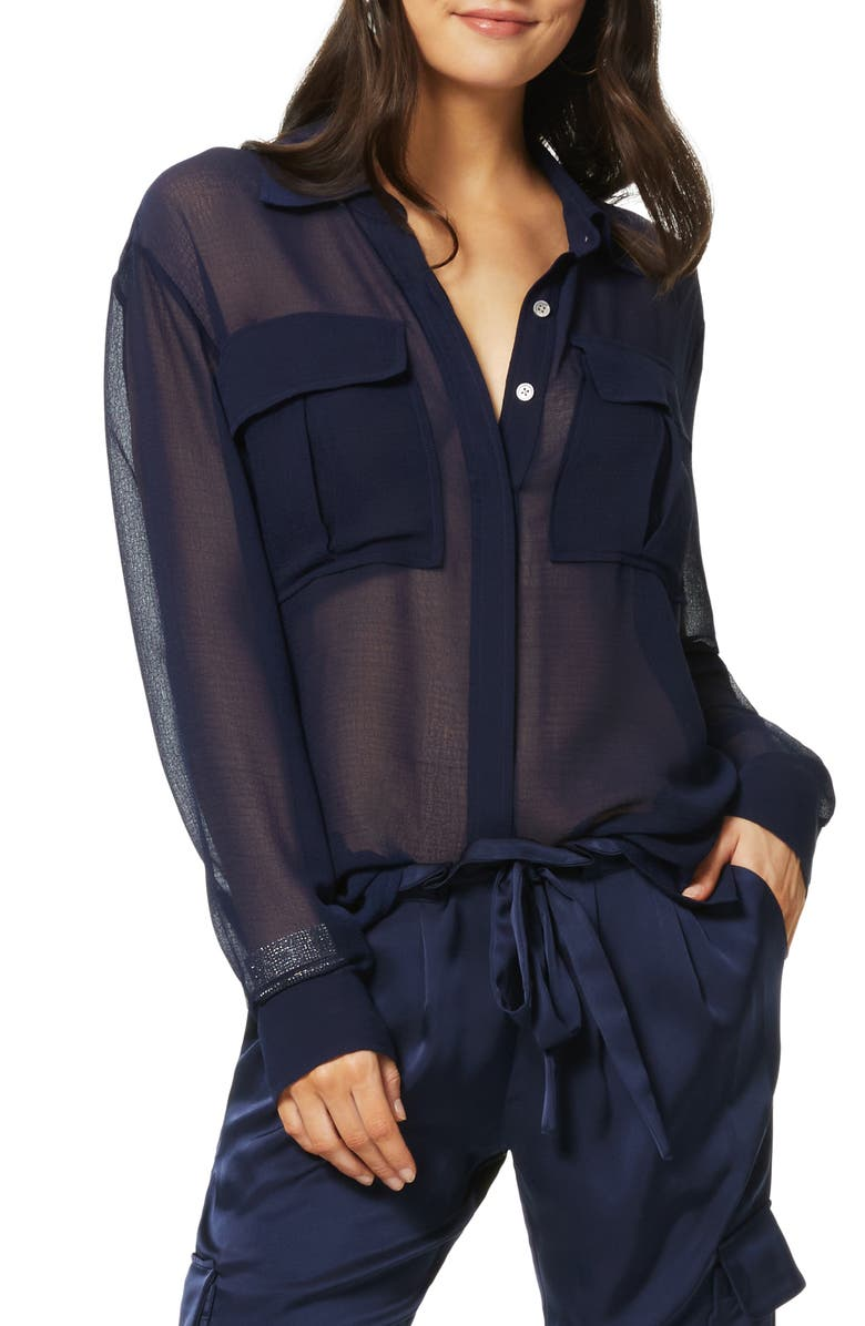 RAMY BROOK Kennedy Button-Up Blouse, Main, color, 415
