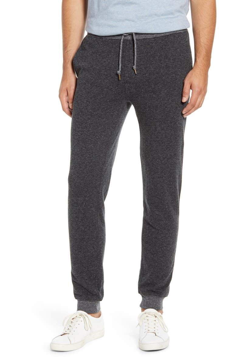 FAHERTY Dual Knit Joggers, Main, color, WASHED BLACK