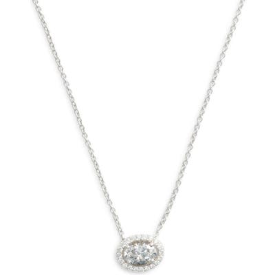 Lafonn Oval Halo Necklace