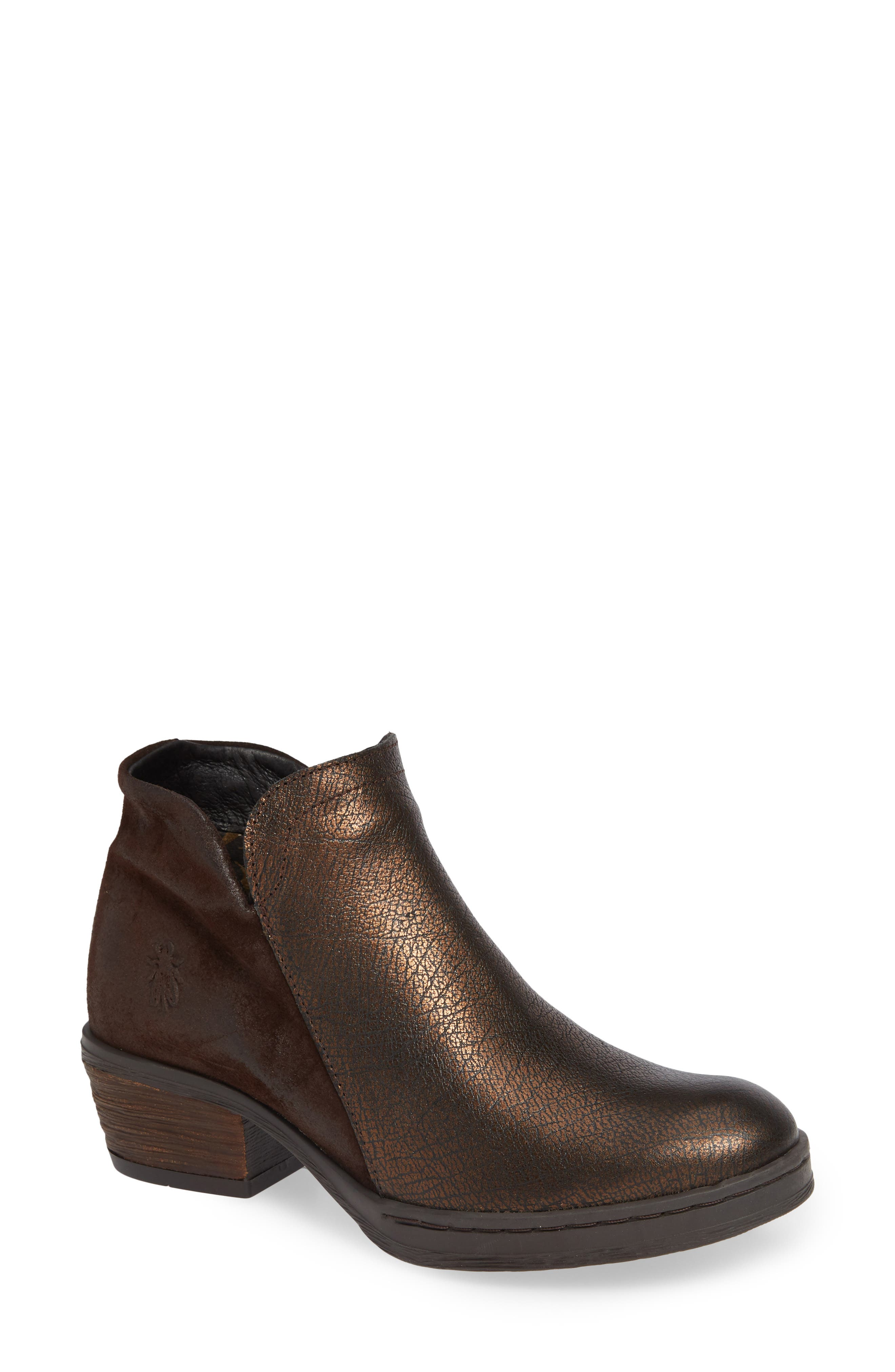 Fly London Cled Bootie - Brown