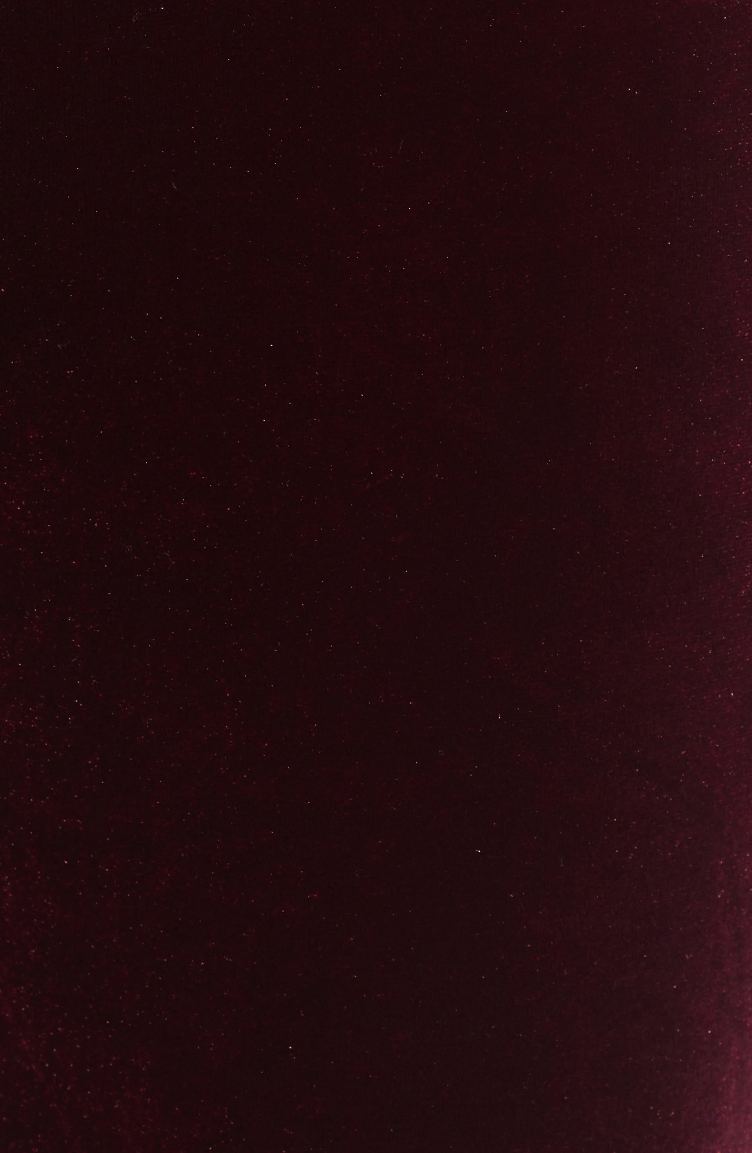 ,                             Velvet Flare Pants,                             Alternate thumbnail 6, color,                             930