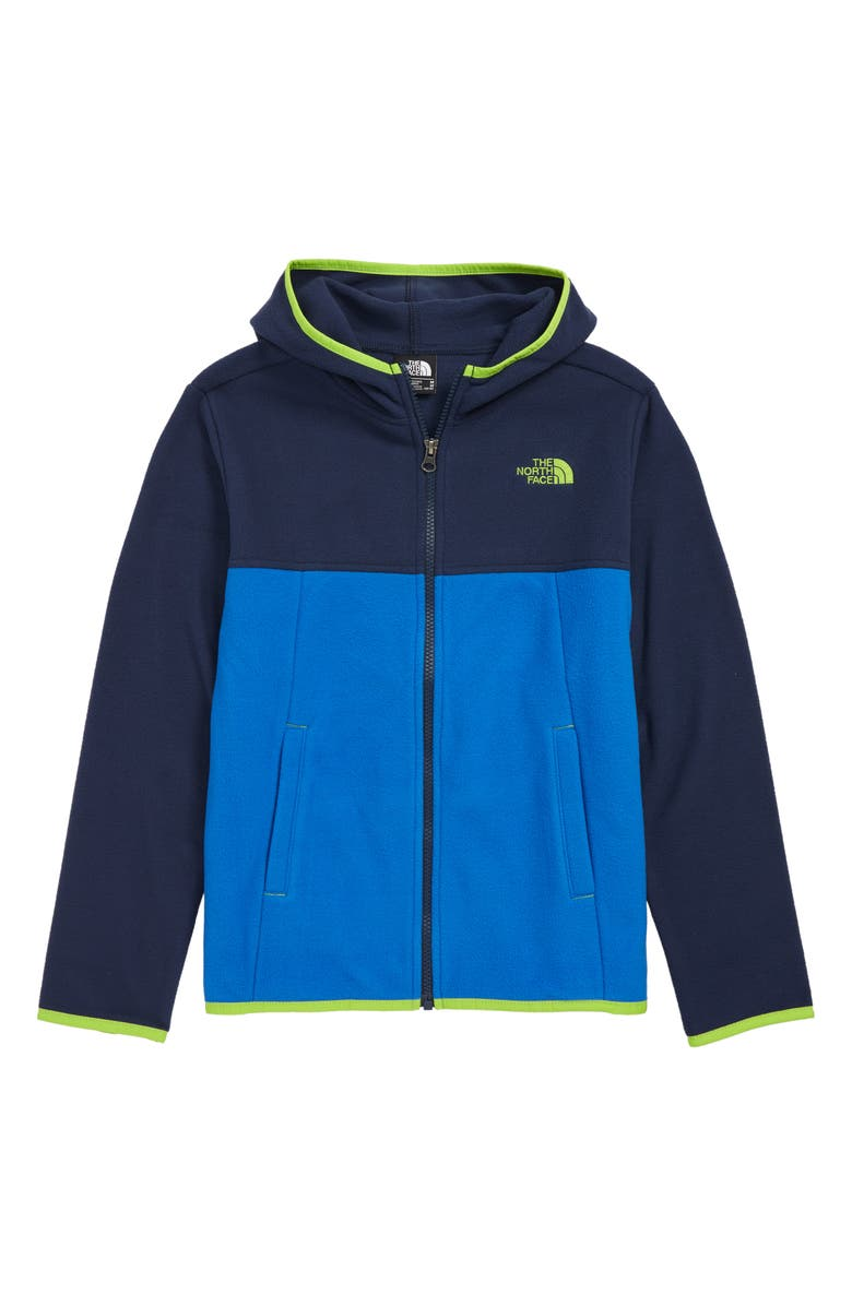 THE NORTH FACE Glacier Full Zip Hoodie, Main, color, 402