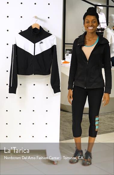 Sportswear Heritage Crop Track Jacket, sales video thumbnail