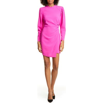 A.l.c. Jane Long Leg Of Mutton Sleeve Minidress, Pink