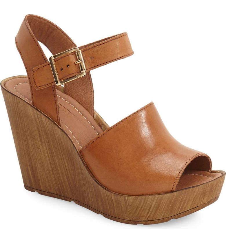 TOPSHOP 'Willow' Platform Wedge Sandal, Main, color, 210