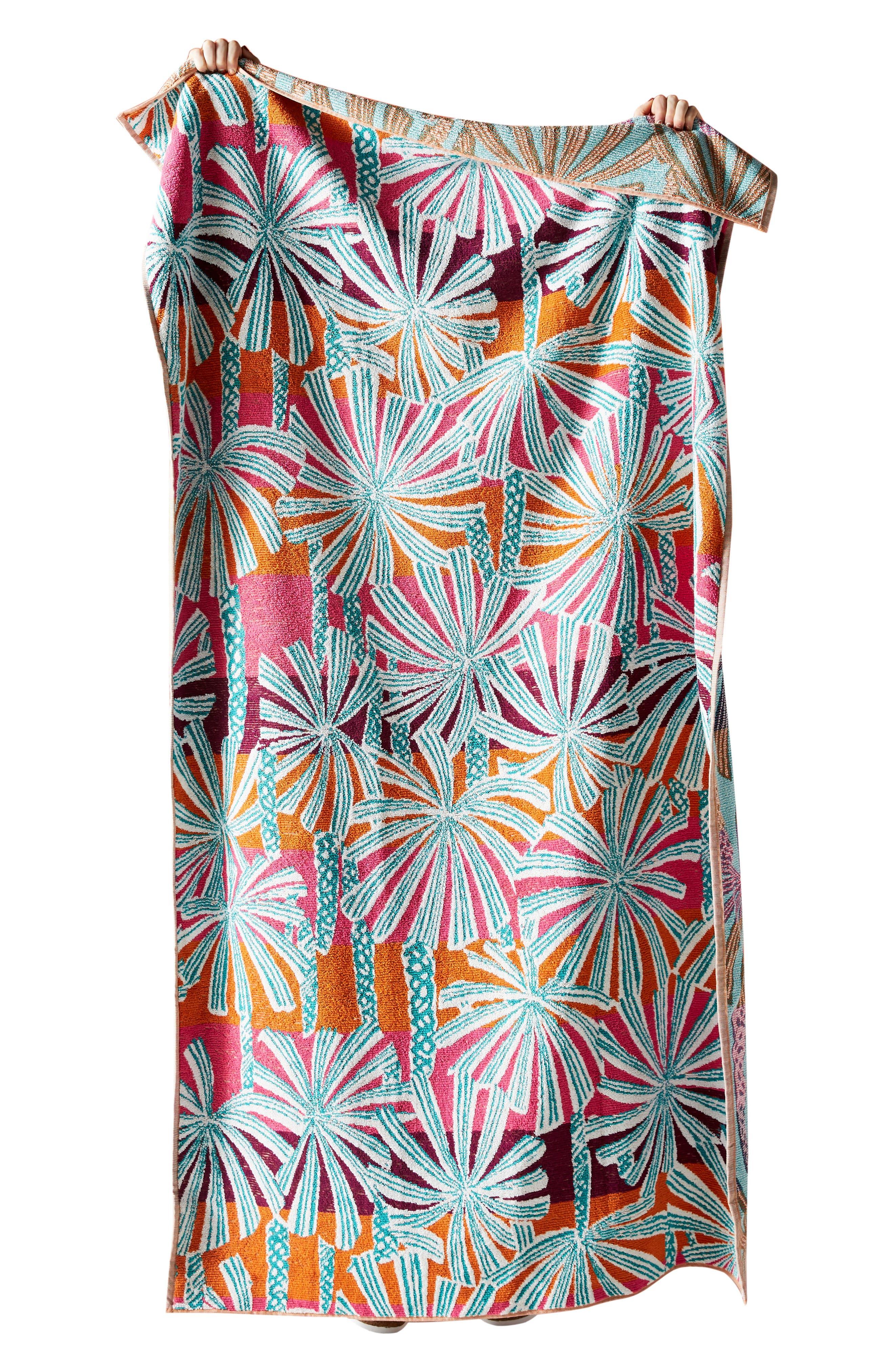 ,                             Palm Beach Cotton Beach Towel,                             Alternate thumbnail 3, color,                             WARM