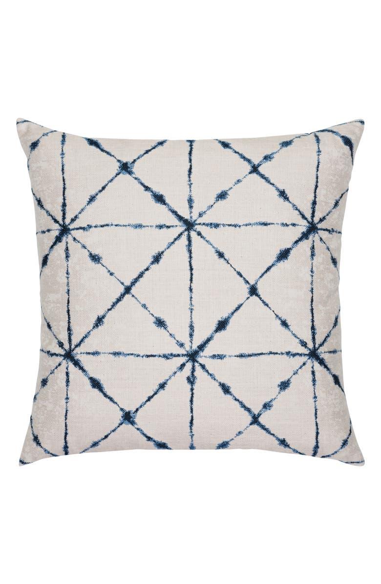 ELAINE SMITH Trilogy Indigo Indoor/Outdoor Accent Pillow, Main, color, BLUE MULTI
