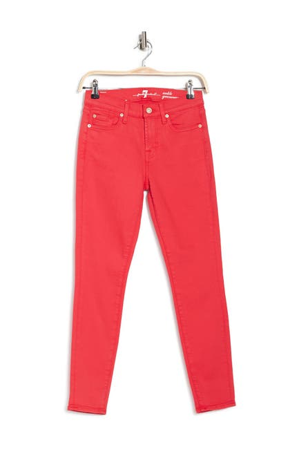 Image of 7 For All Mankind Gwenevere Ankle Crop Skinny Jeans