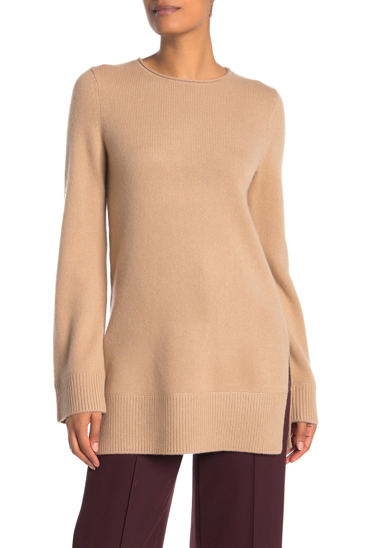 Image of Vince Cashmere Crew Neck Tunic