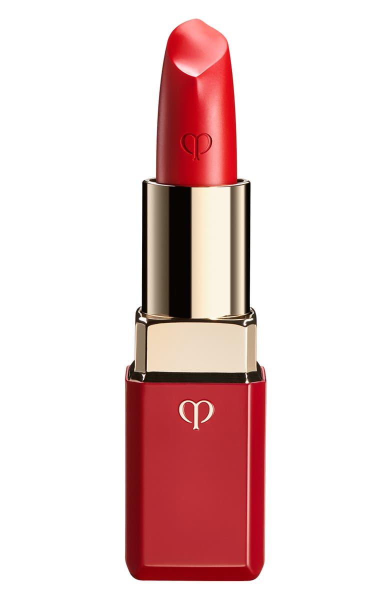 CLÉ DE PEAU BEAUTÉ Red Passion Lipstick Cashmere, Main, color, 512 RED PASSION