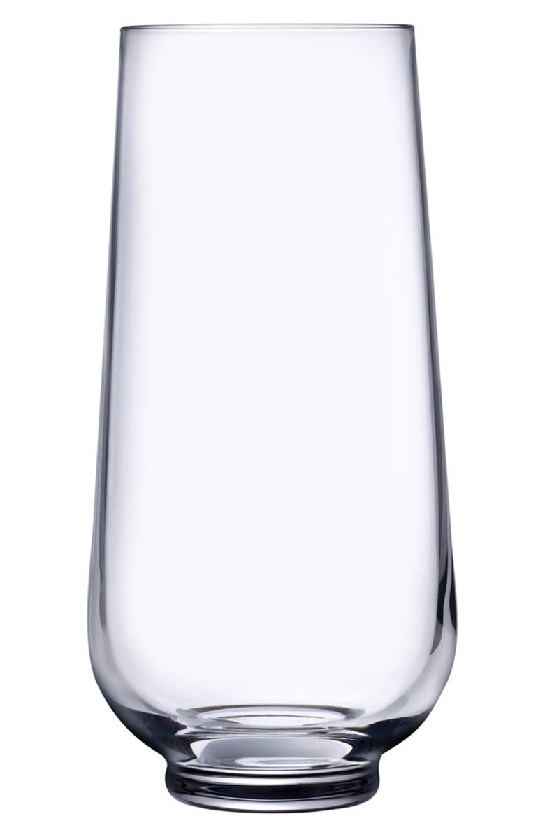 NUDE Hepburn Set of 2 Long Drink Glasses, Main, color, CLEAR