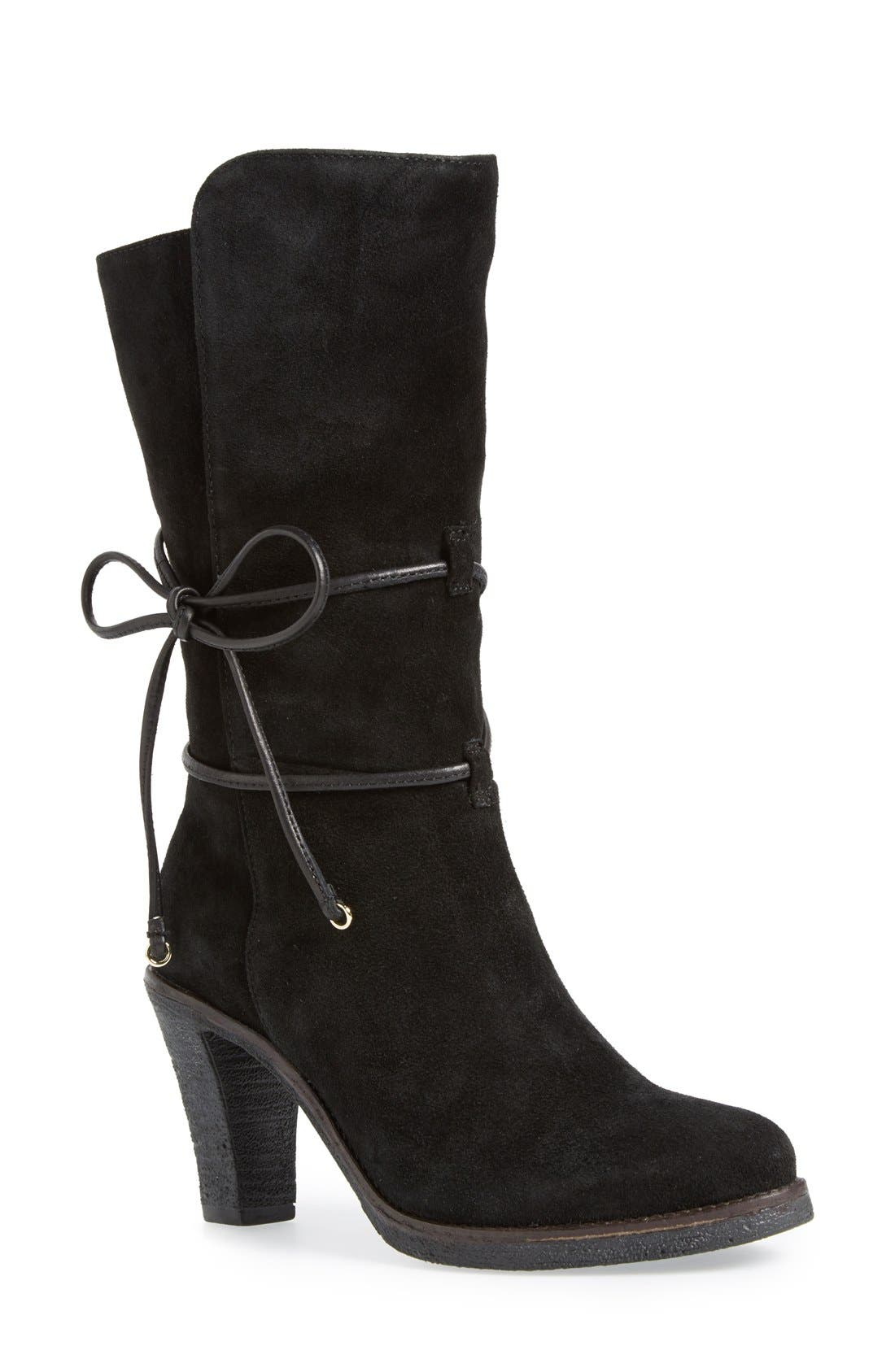 ,                             'Jeanie' Mid Calf Boot,                             Main thumbnail 1, color,                             008