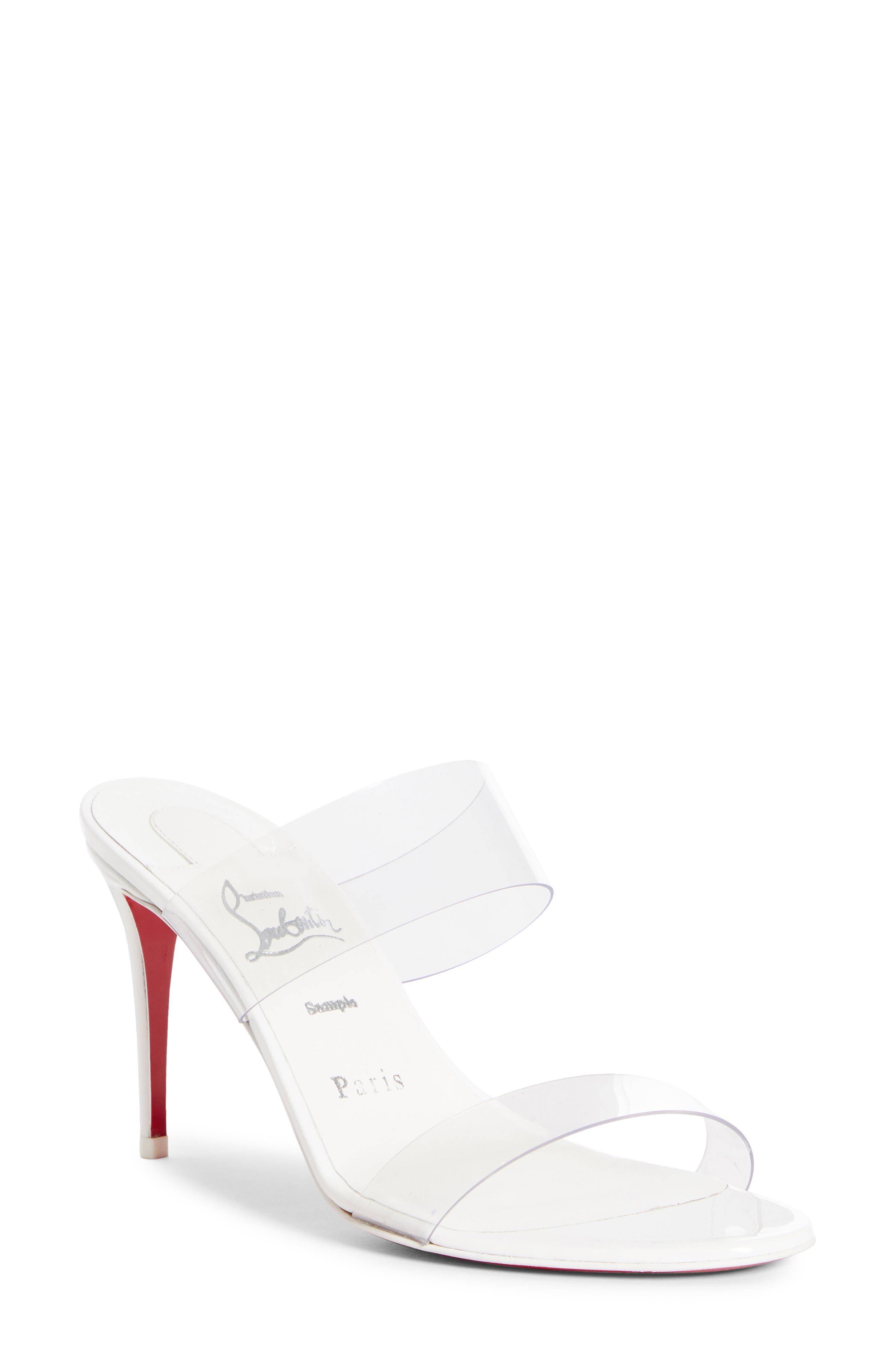 Women's White Clear Heels | Nordstrom