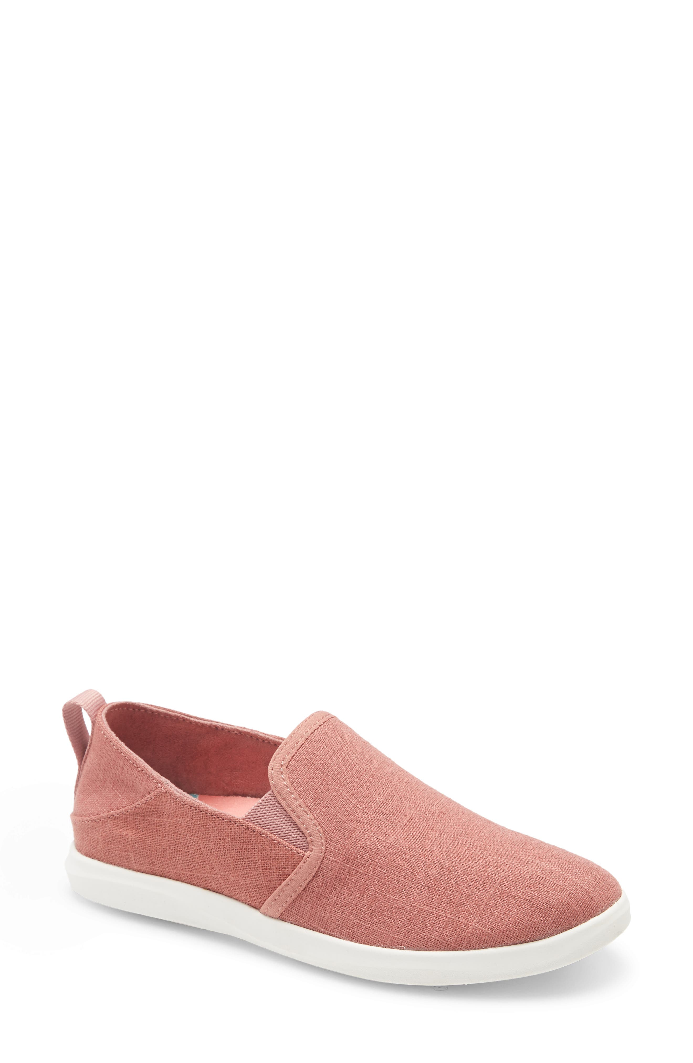 A sneaker you\\\'ll want to live in features a woven upper with a Drop-in-Heel and elastic gores for slipping on and off with ease. An anatomical footbed with a gel insert provides all-day cushioning, while the wet-grip sole gives you sturdy traction on the beach or street. Style Name: Olukai Haleiwa Olona Sneaker (Women). Style Number: 6024817. Available in stores.