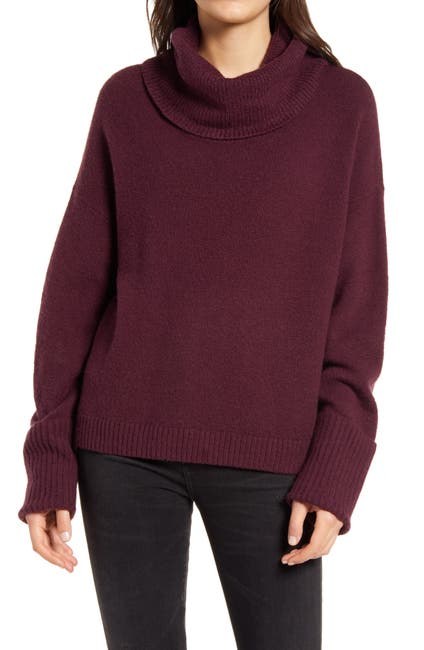 Image of Chelsea28 Cowl Neck Sweater