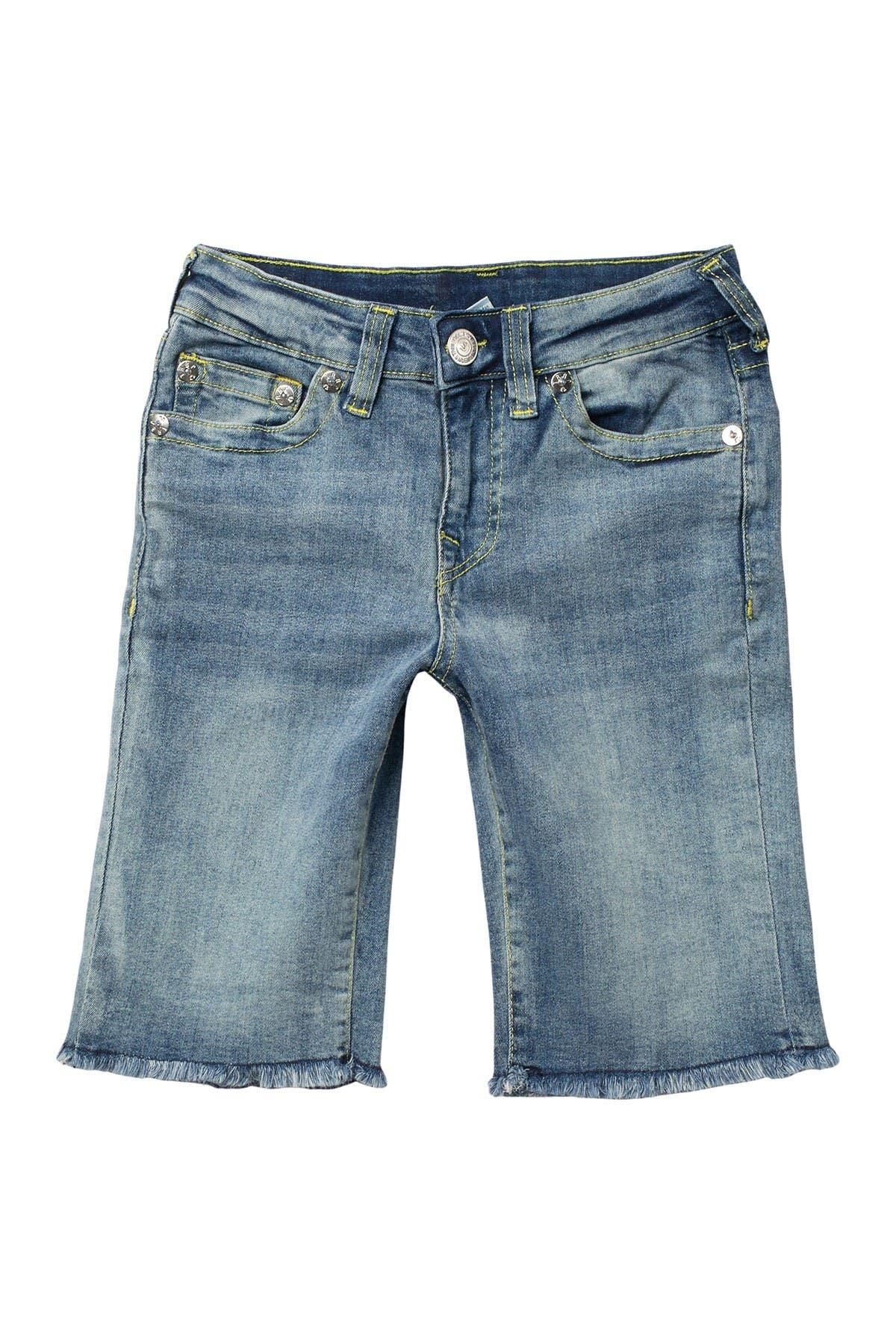 Image of True Religion Geno SE Frayed Shorts