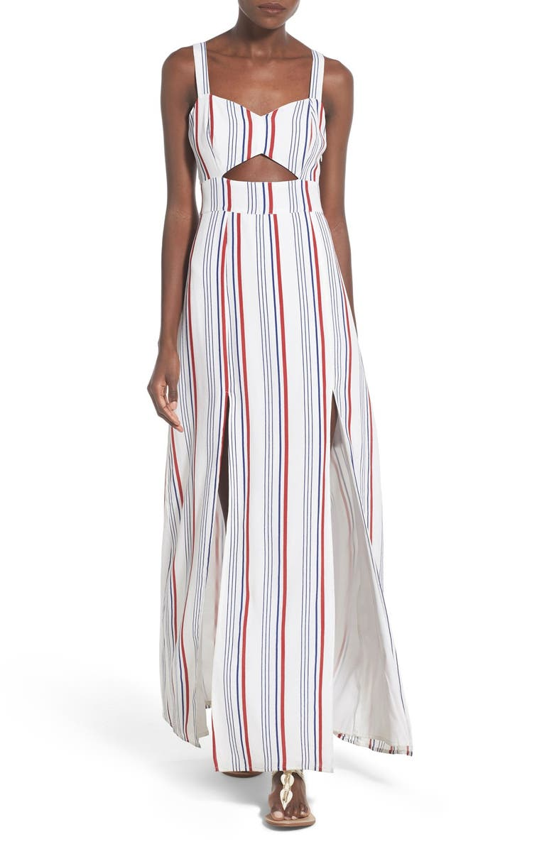 TULAROSA 'Toni' Stripe Maxi Dress, Main, color, 400