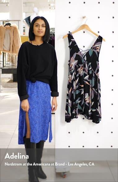 Palm Bay Lace Neck Sleeveless Minidress, sales video thumbnail