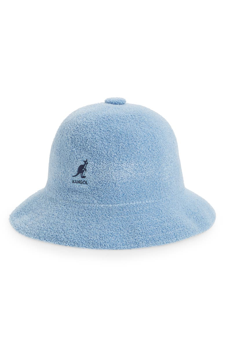KANGOL Bermuda Casual Cloche Hat, Main, color, LIGHT BLUE