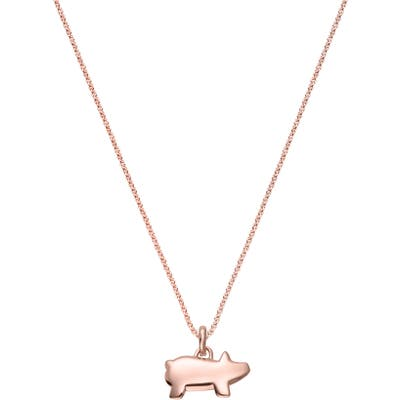Monica Vinader Chinese Zodiac Bessie The Pig Pendant Charm