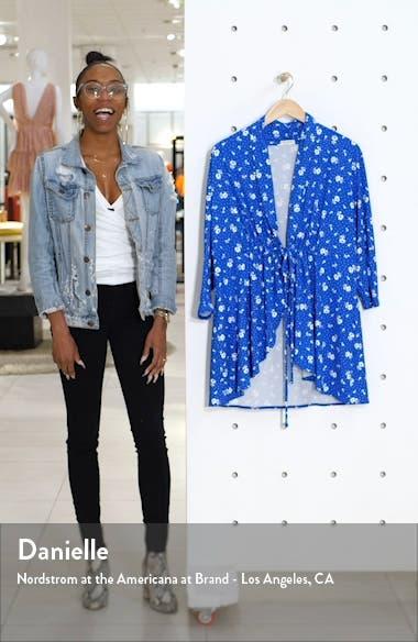 Lori Print Tunic Jacket, sales video thumbnail