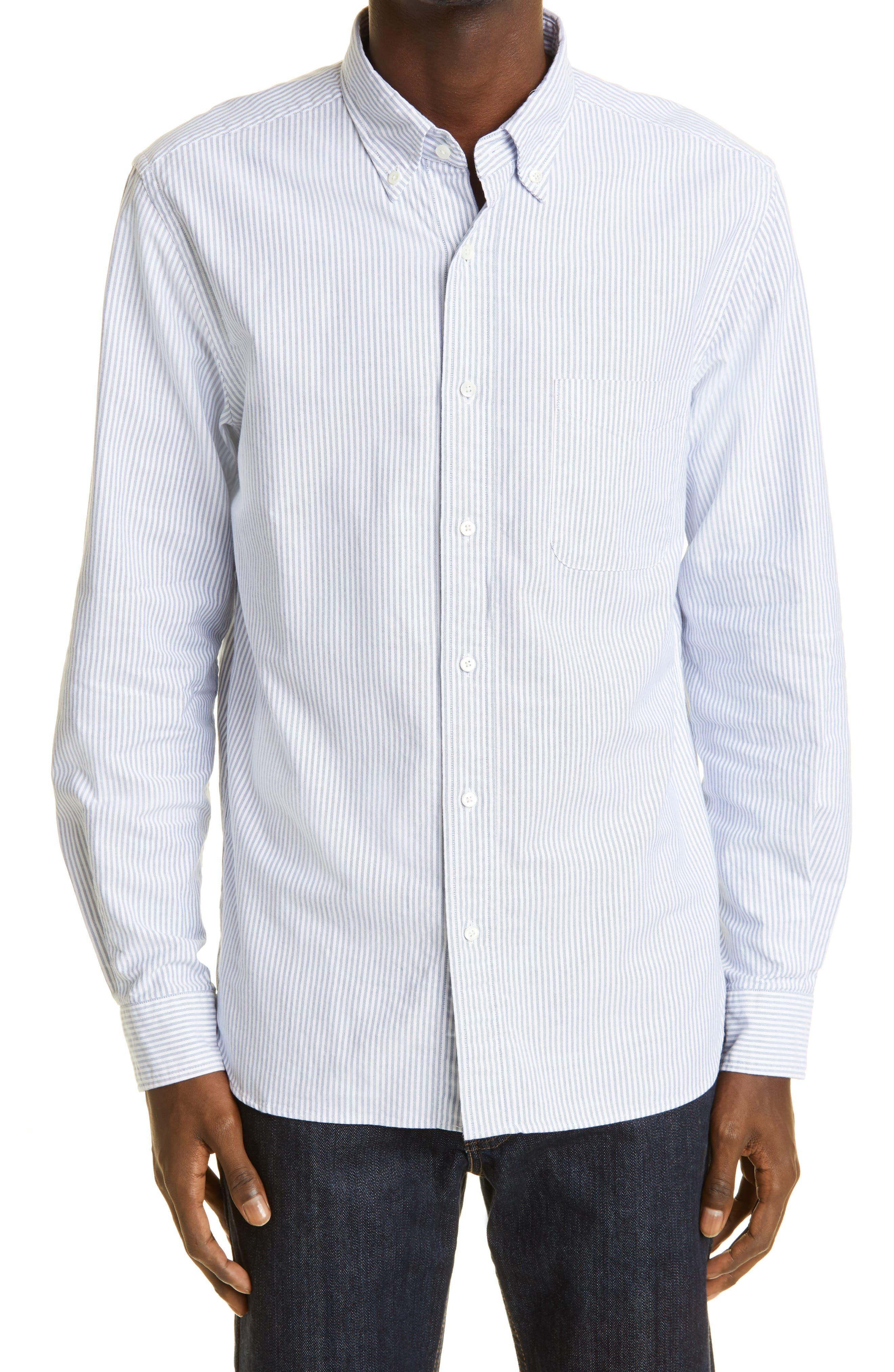 Candy Stripe Oxford Button-Down Shirt