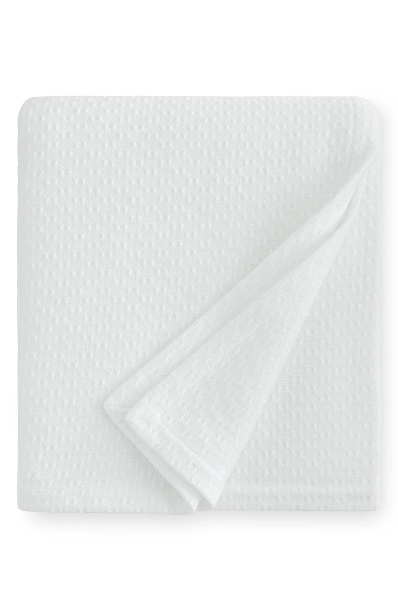 SFERRA Corino Blanket, Main, color, WHITE