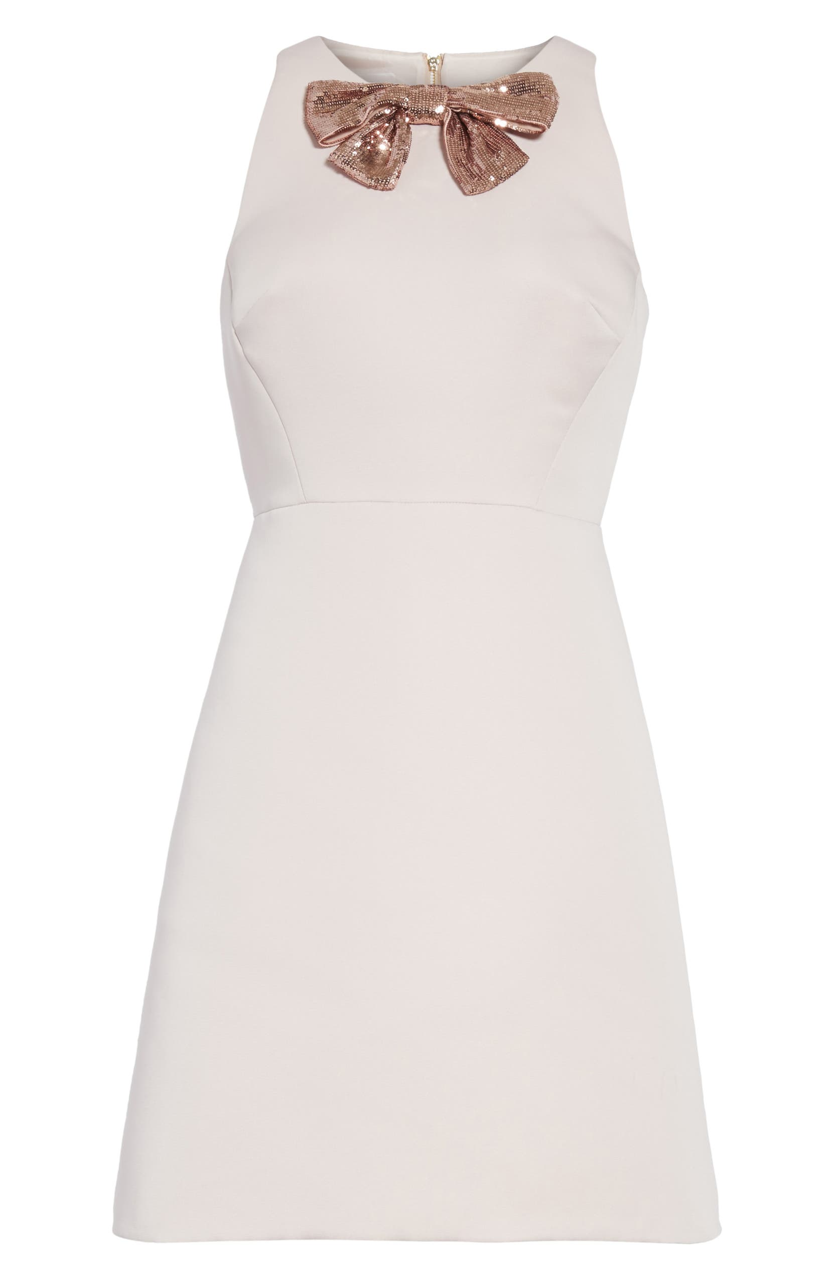 kate spade new york sequin bow A-line dress | Nordstrom