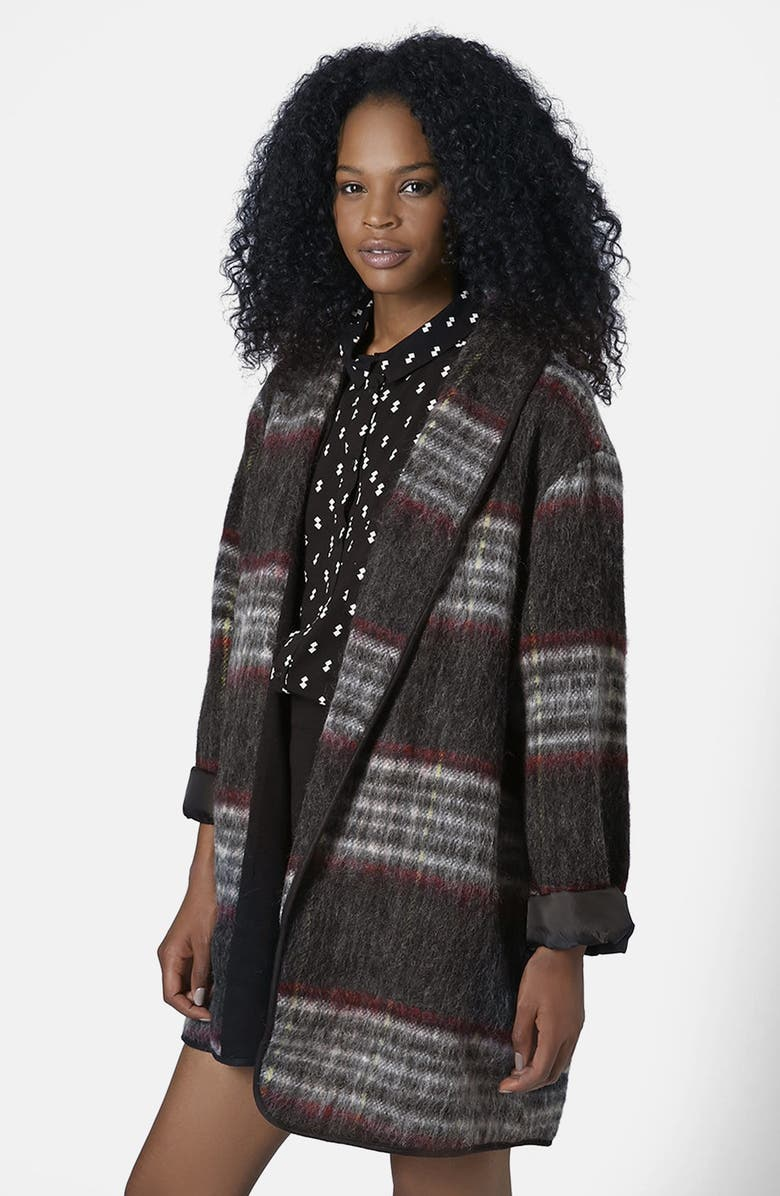 TOPSHOP Fluffy Wool Duster, Main, color, 020