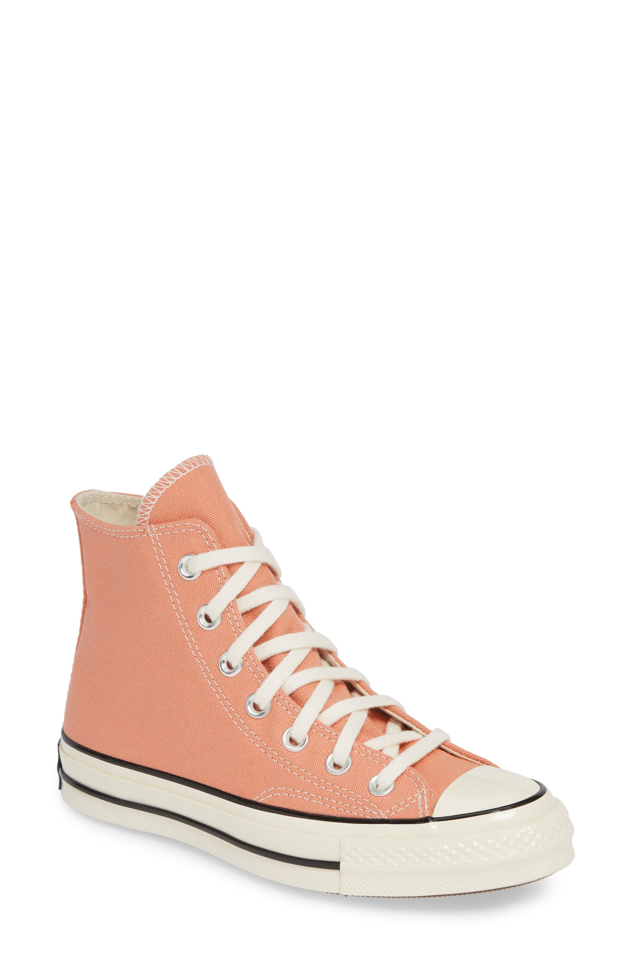 Converse Chuck Taylor All Star 70 High Top Sneaker, Coral