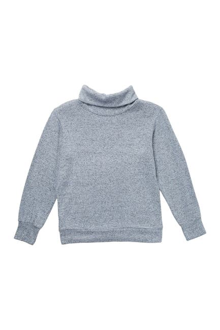 Image of Z by Zella Girl Cozy Cowl Neck Popover Sweater