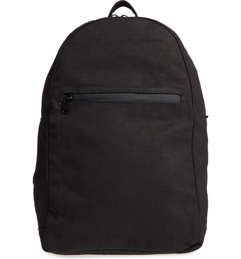 BAGGU Canvas Backpack, Main, color, 001