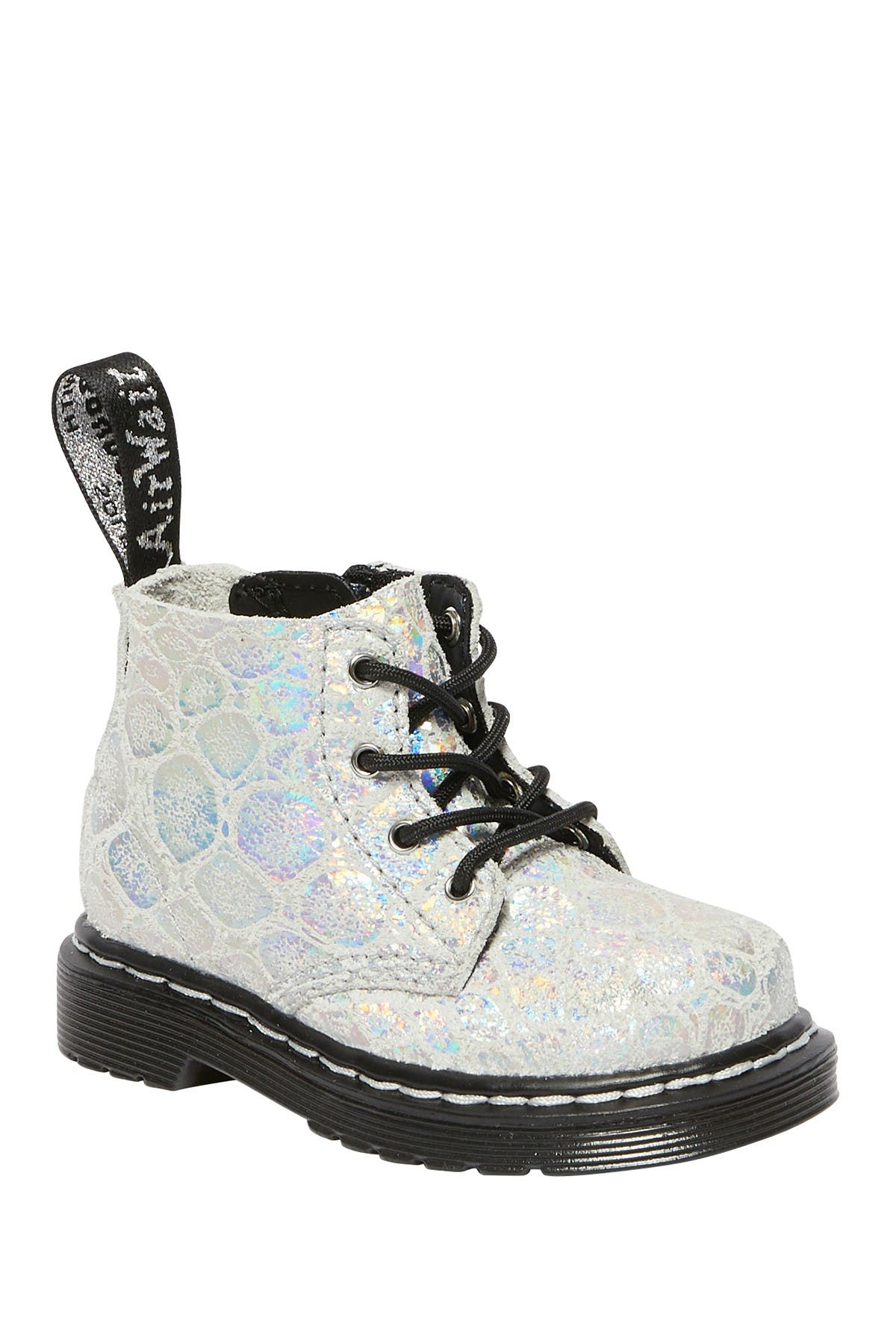 Image of Dr. Martens 1460 Croc Embossed Pascal Boot