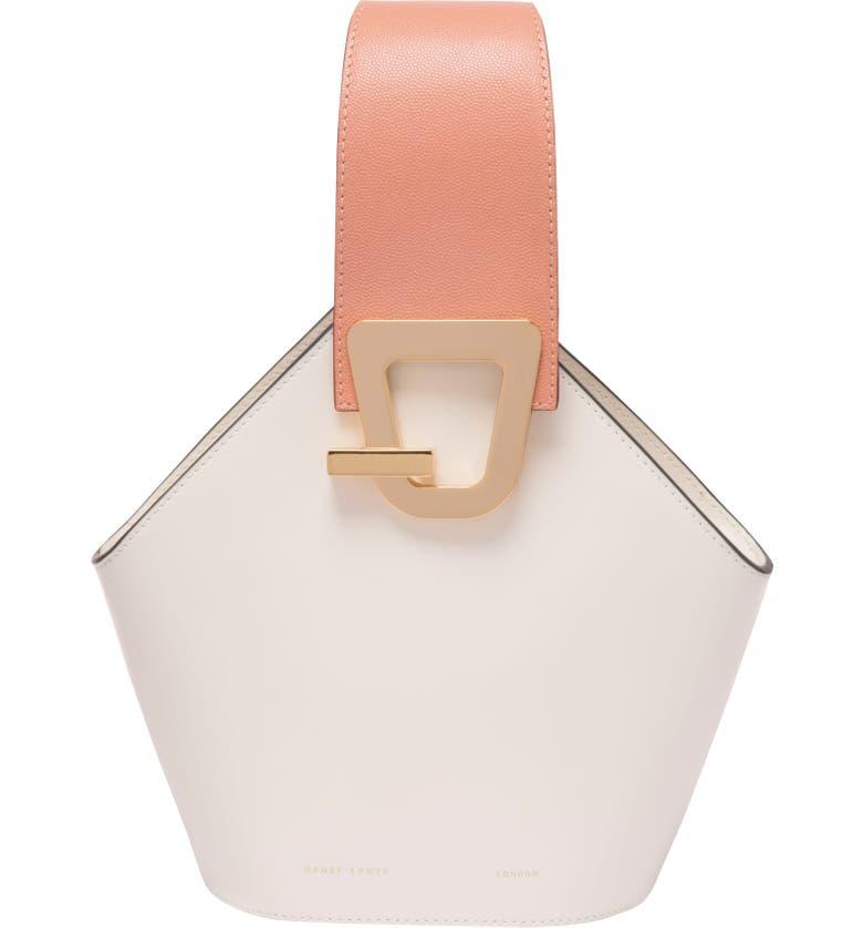 DANSE LENTE Mini Johnny Leather Bucket Bag, Main, color, 101