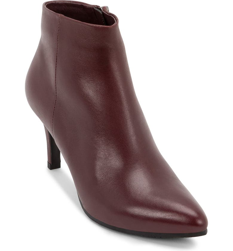 BLONDO Teri Waterproof Bootie, Main, color, BURGUNDY LEATHER