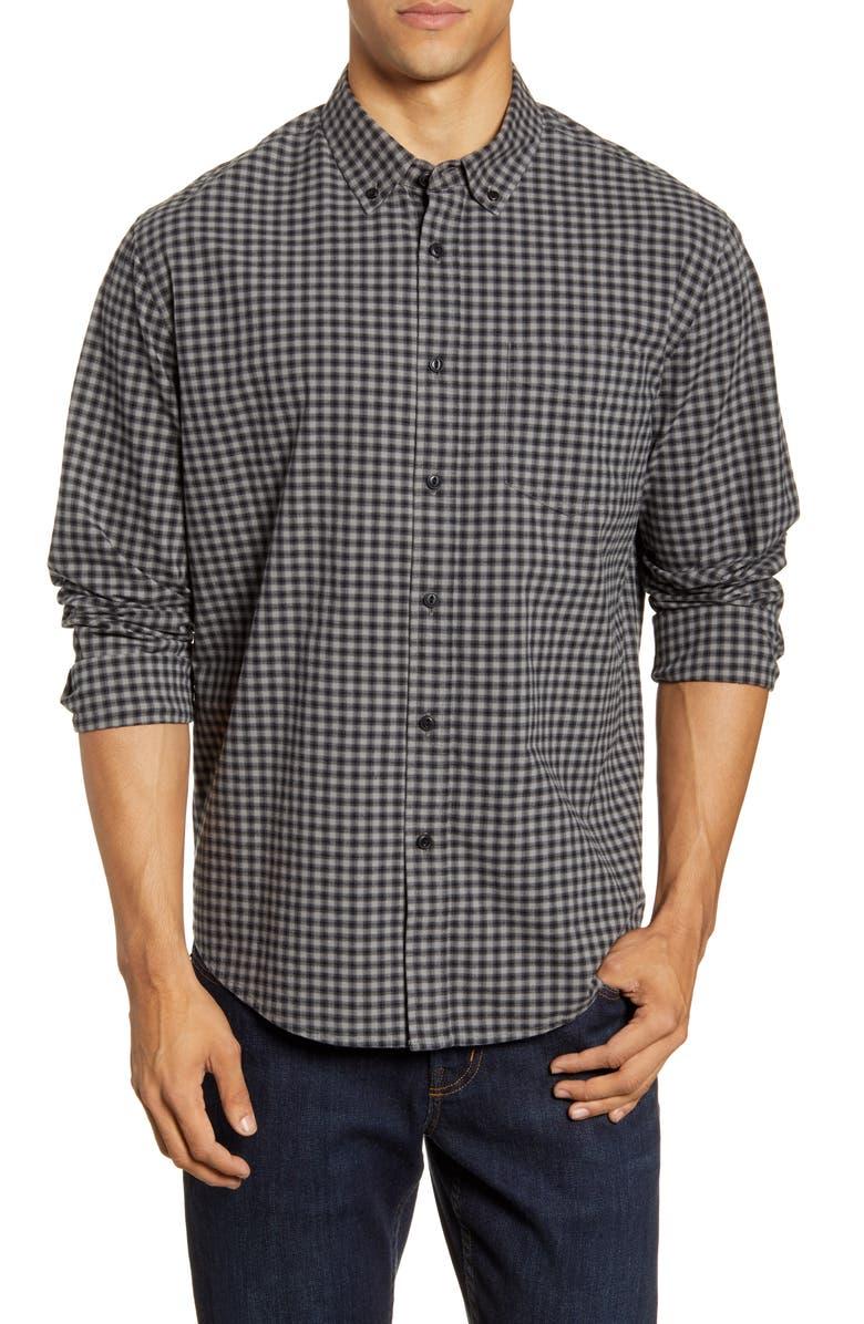 RAILS Lennox Regular Fit Plaid Button-Up Shirt, Main, color, 023