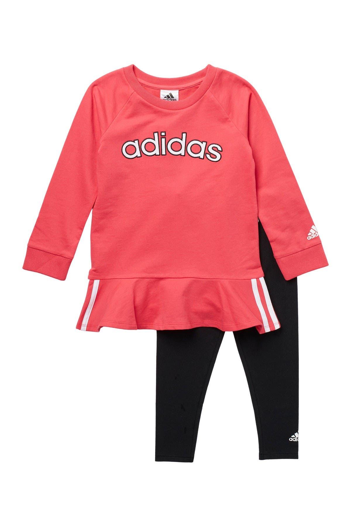 Image of adidas Varsity Dress & Leggings - 2-Piece Set