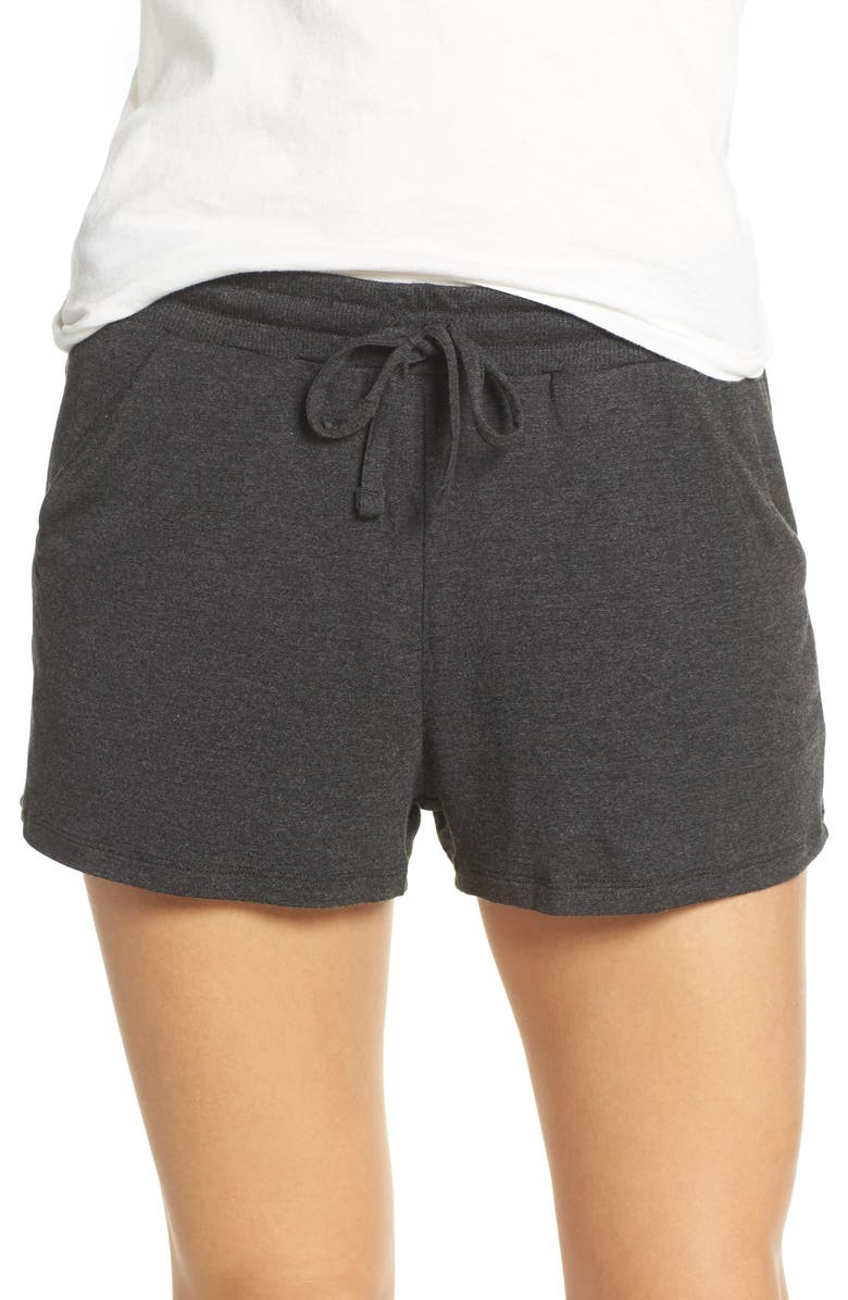 TOMMY JOHN Lounge Shorts, Main, color, CHARCOAL HEATHER