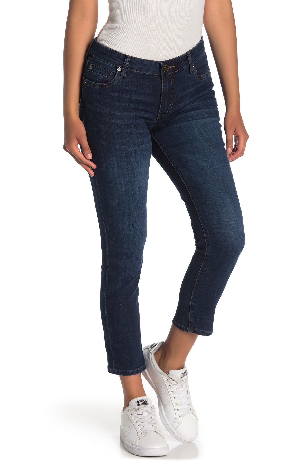 Image of KUT from the Kloth Katy Rolled Boyfriend Jeans