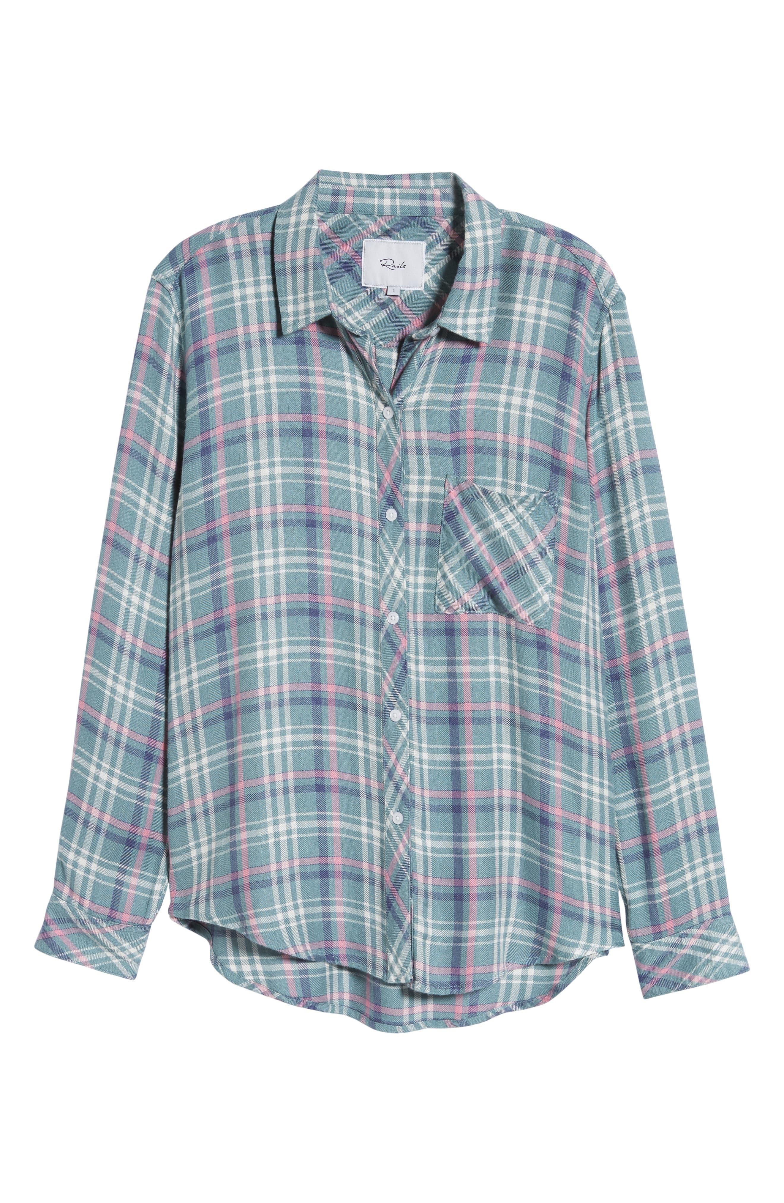 ,                             Hunter Plaid Shirt,                             Alternate thumbnail 134, color,                             452