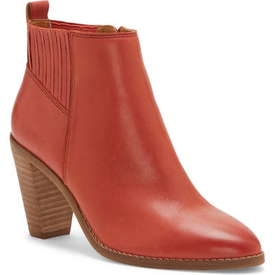 Lucky Brand Nesly Bootie- Red