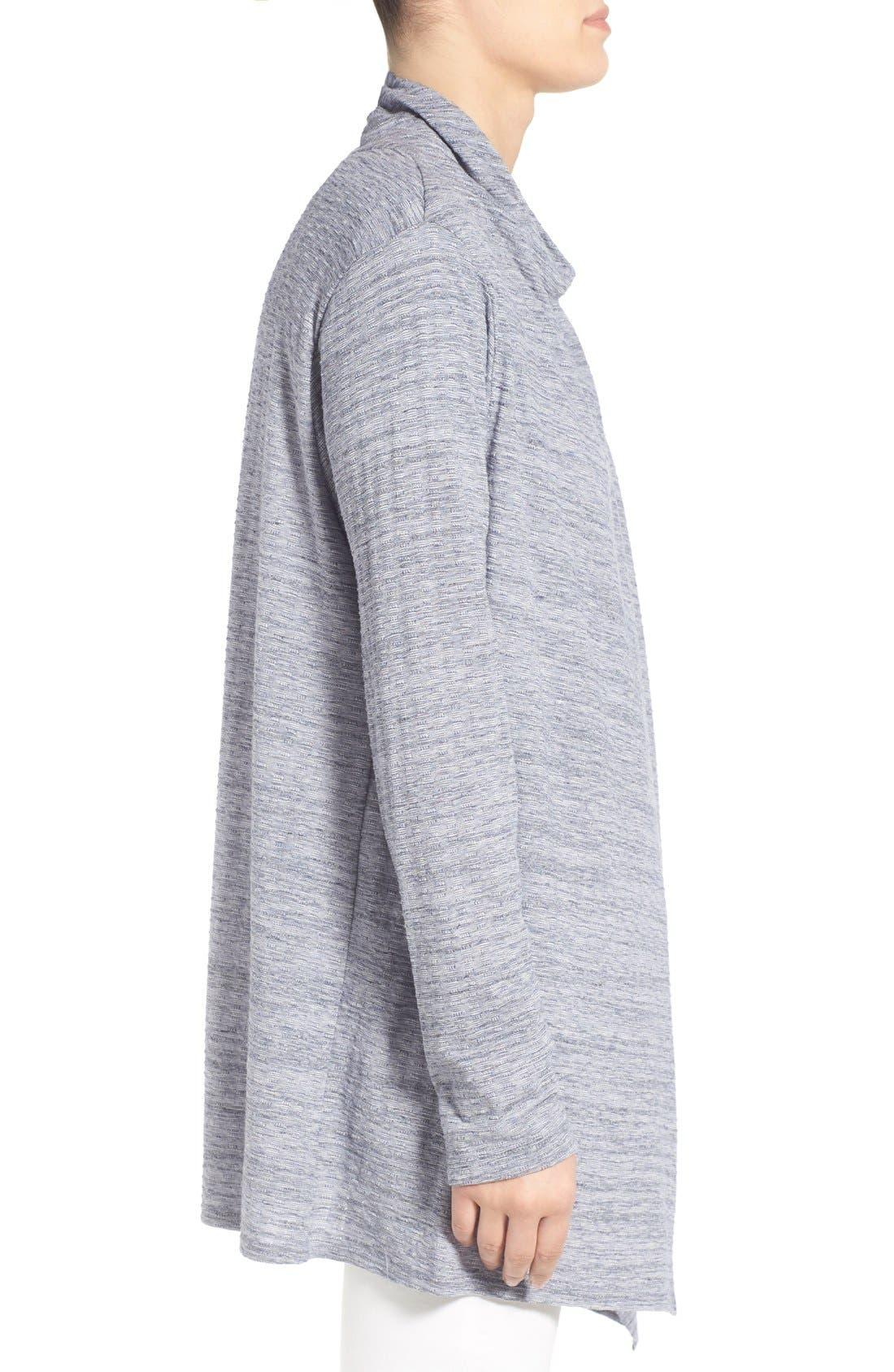 ,                             One-Button Fleece Wrap Cardigan,                             Alternate thumbnail 113, color,                             410