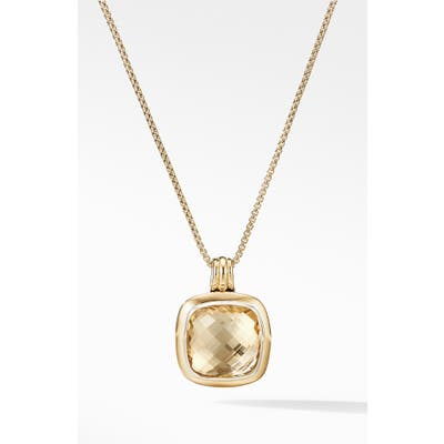David Yurman Albion Pendant With 18K Gold