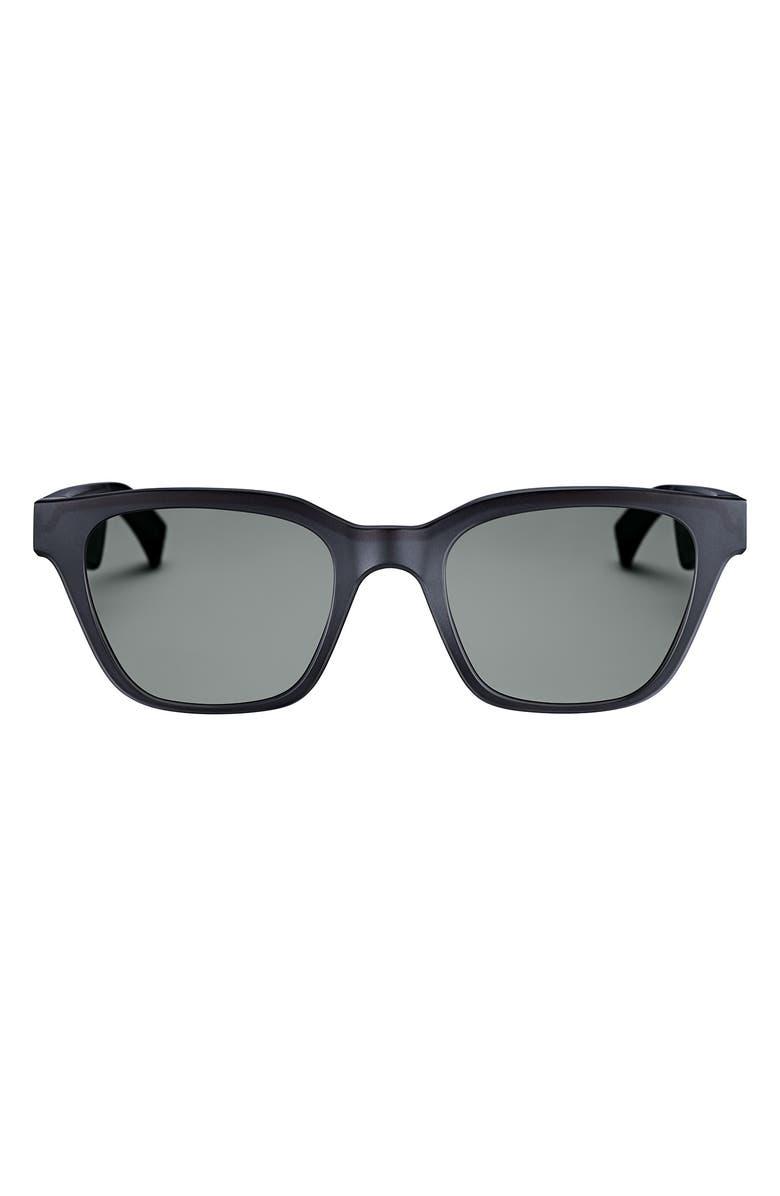 BOSE<SUP>®</SUP> Frames Alto Small/Medium 51mm Audio Sunglasses, Main, color, BLACK