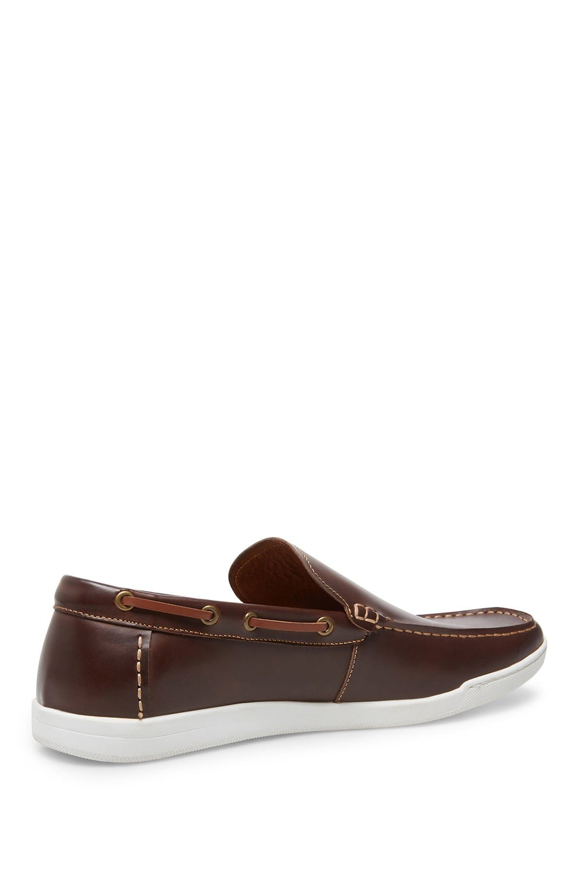 Image of Steve Madden Revenge Leather Slip-On Sneaker