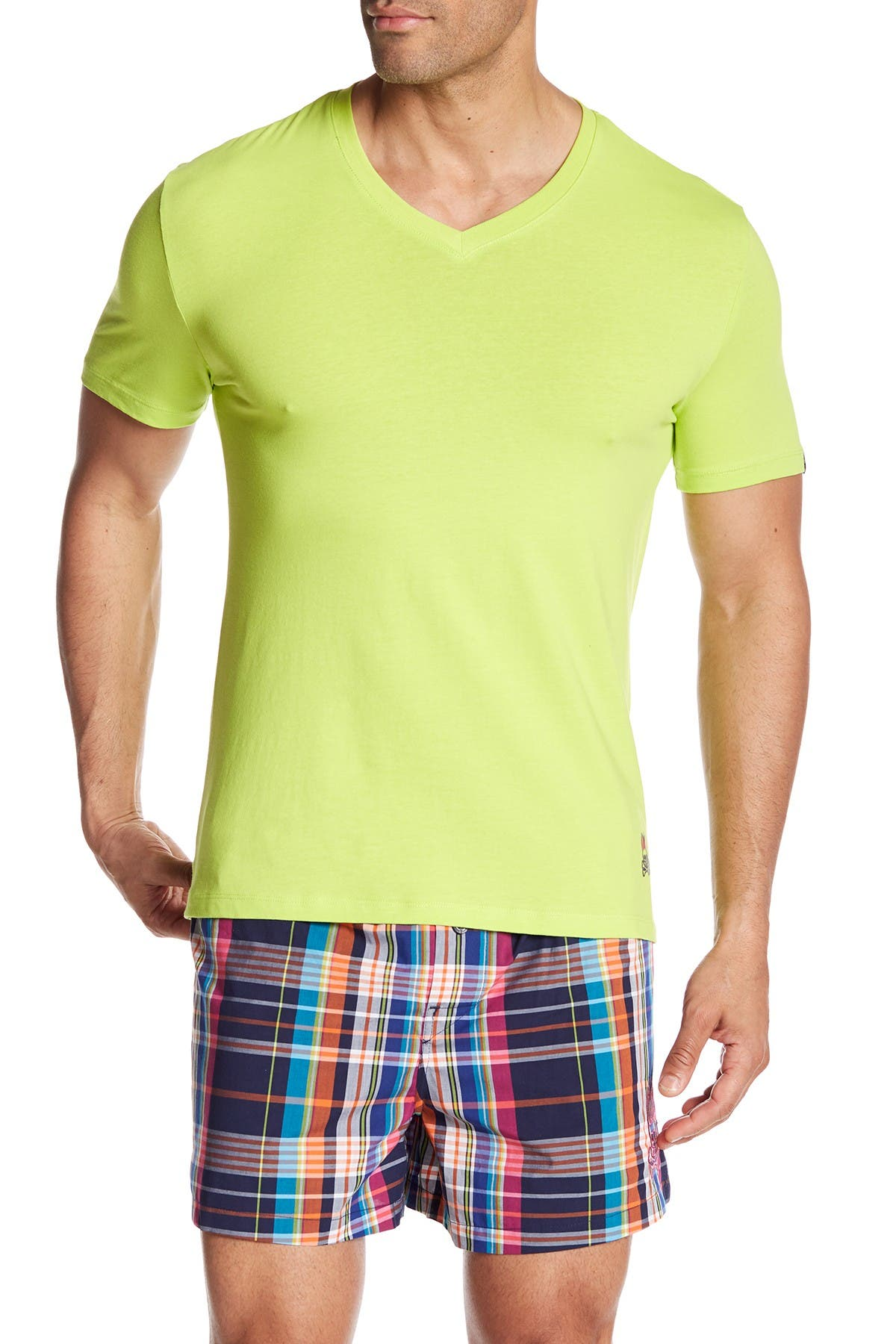 Image of Psycho Bunny Brights V-Neck Lounge T-Shirt