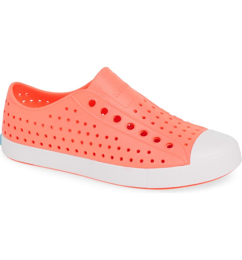 NATIVE SHOES Jefferson Vegan Perforated Sneaker, Main, color, 950