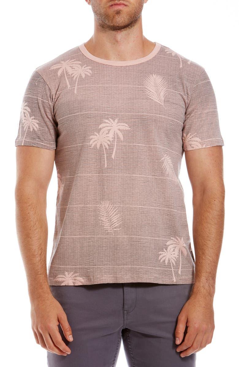 BEN SHERMAN Palm Print T-Shirt, Main, color, 650