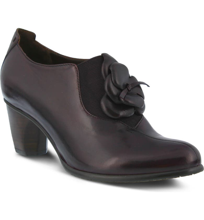 SPRING STEP Evelina Pump, Main, color, PLUM LEATHER