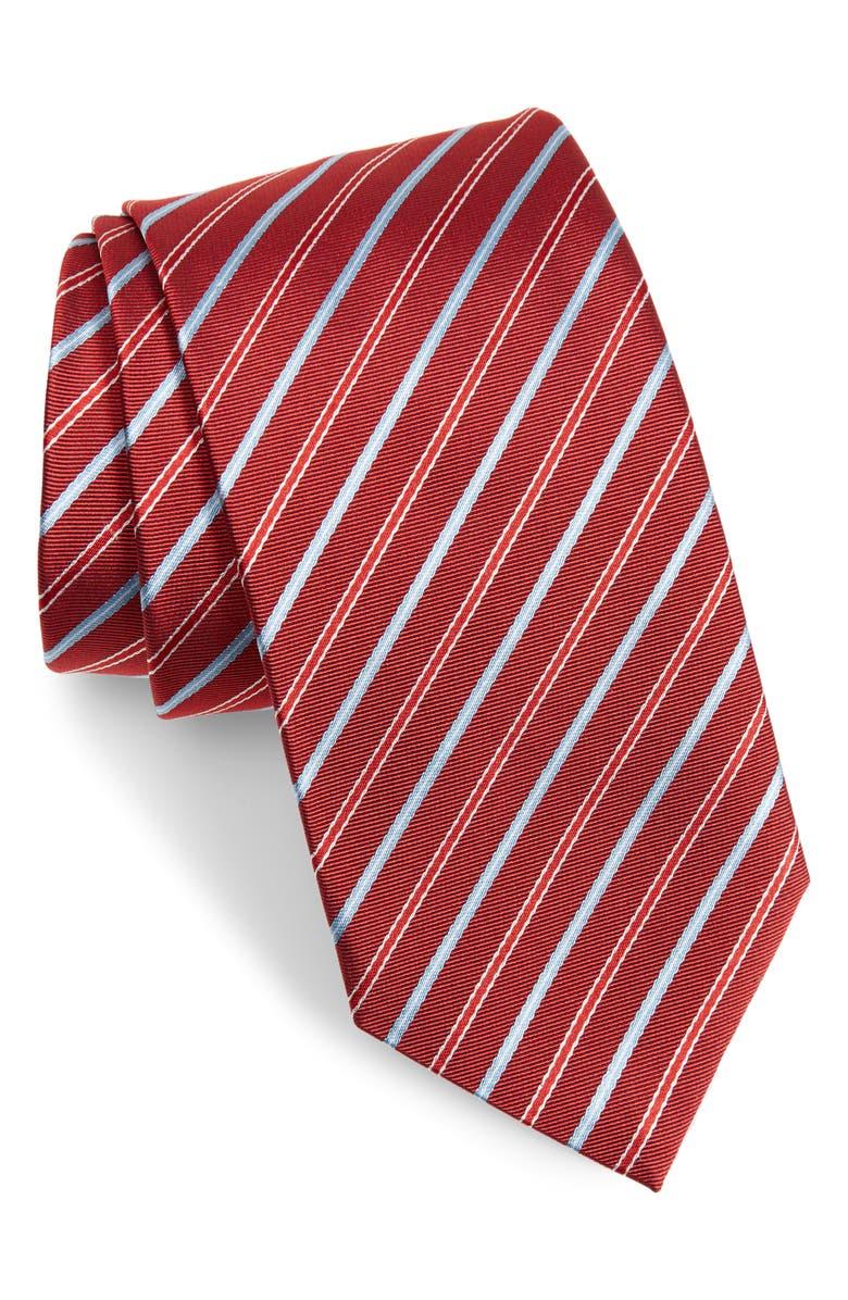 BOSS Stripe Tie, Main, color, 617